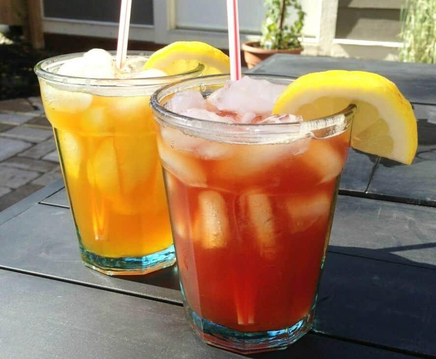 Sweet Tea Vodka Cocktails