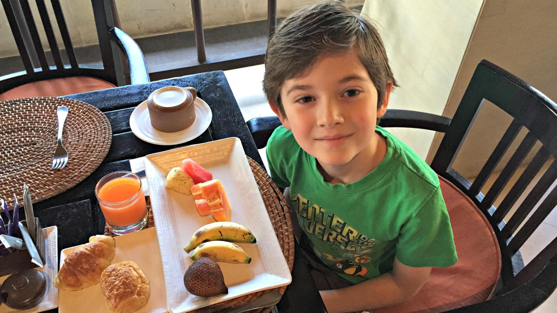 Dining in Bali