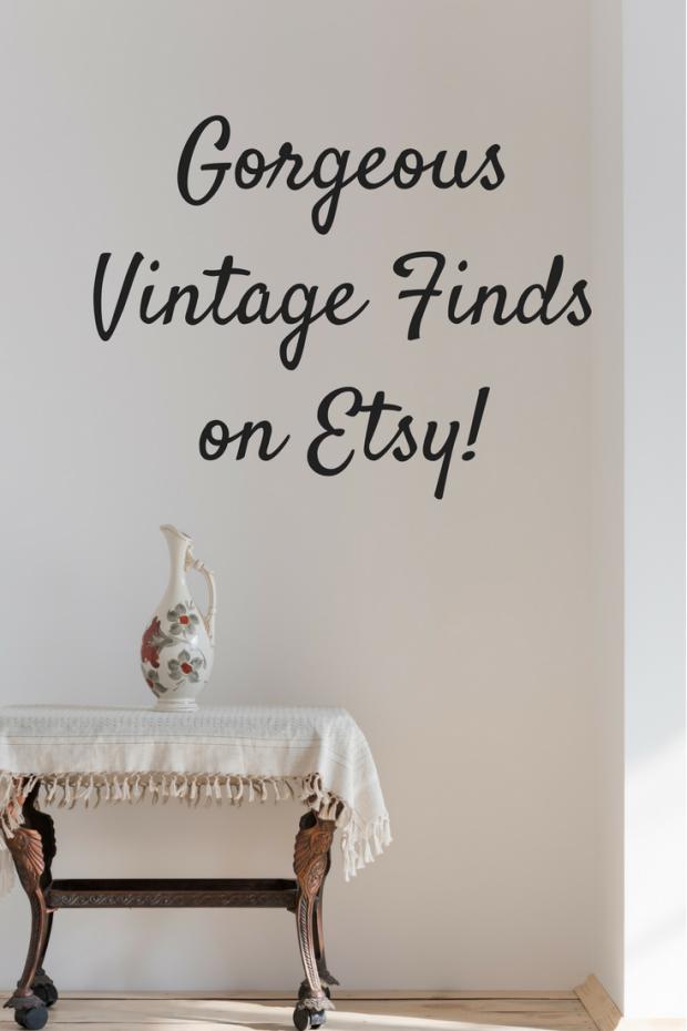 Online Vintage Finds at Etsy!