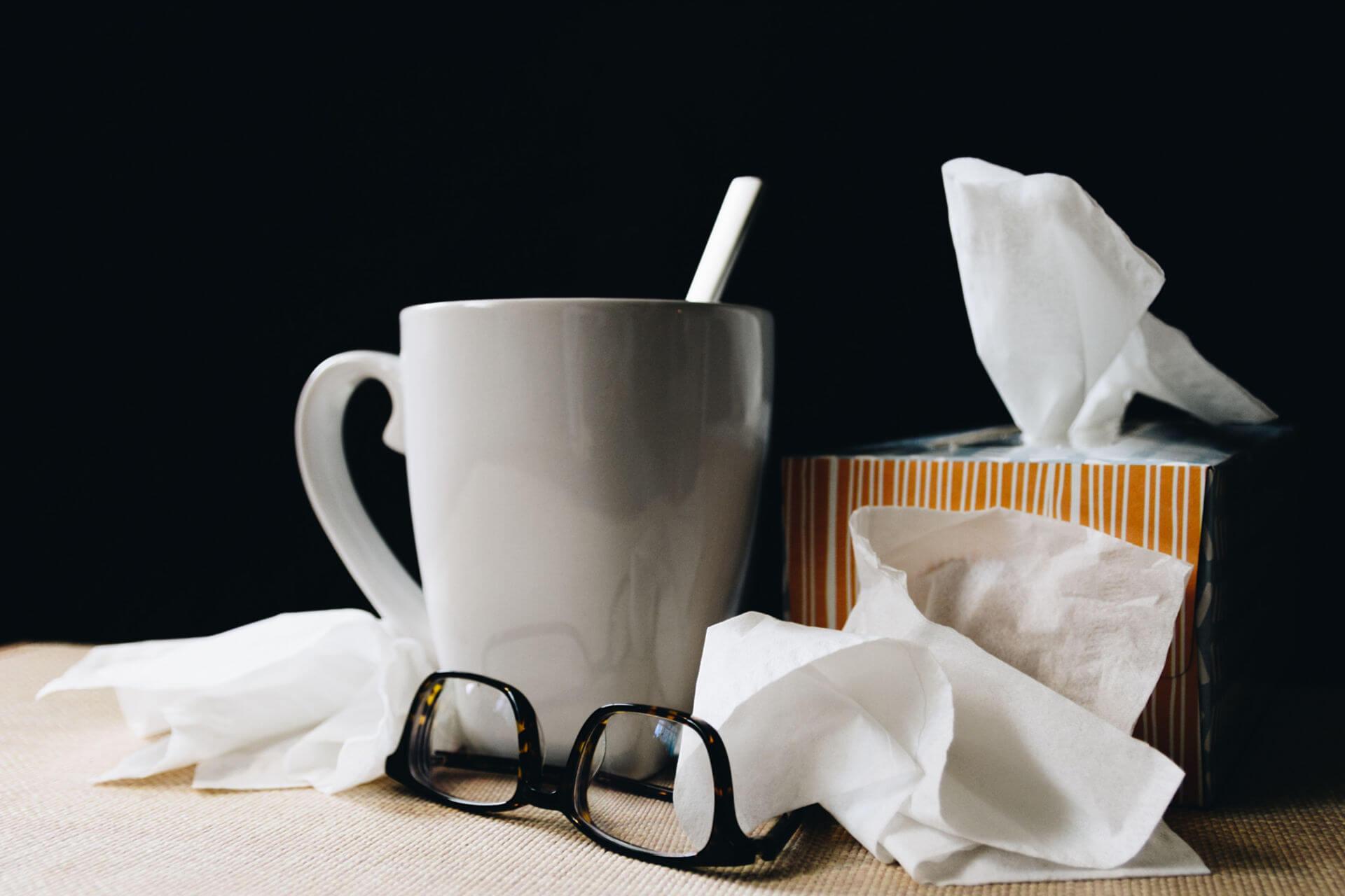 preventing spread of flu