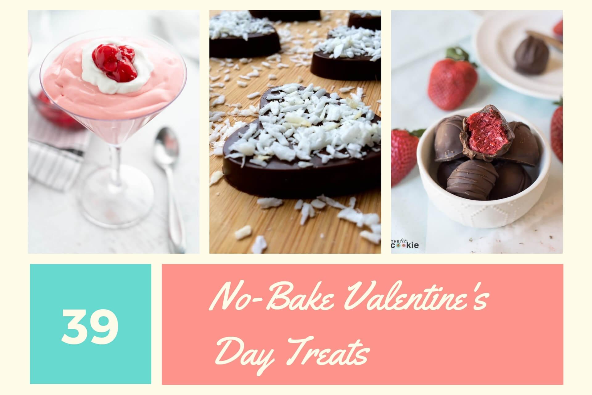 No-Bake Valentine's Day Treats
